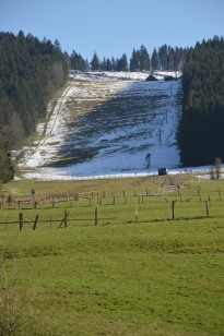 Une piste de ski en Ardenne